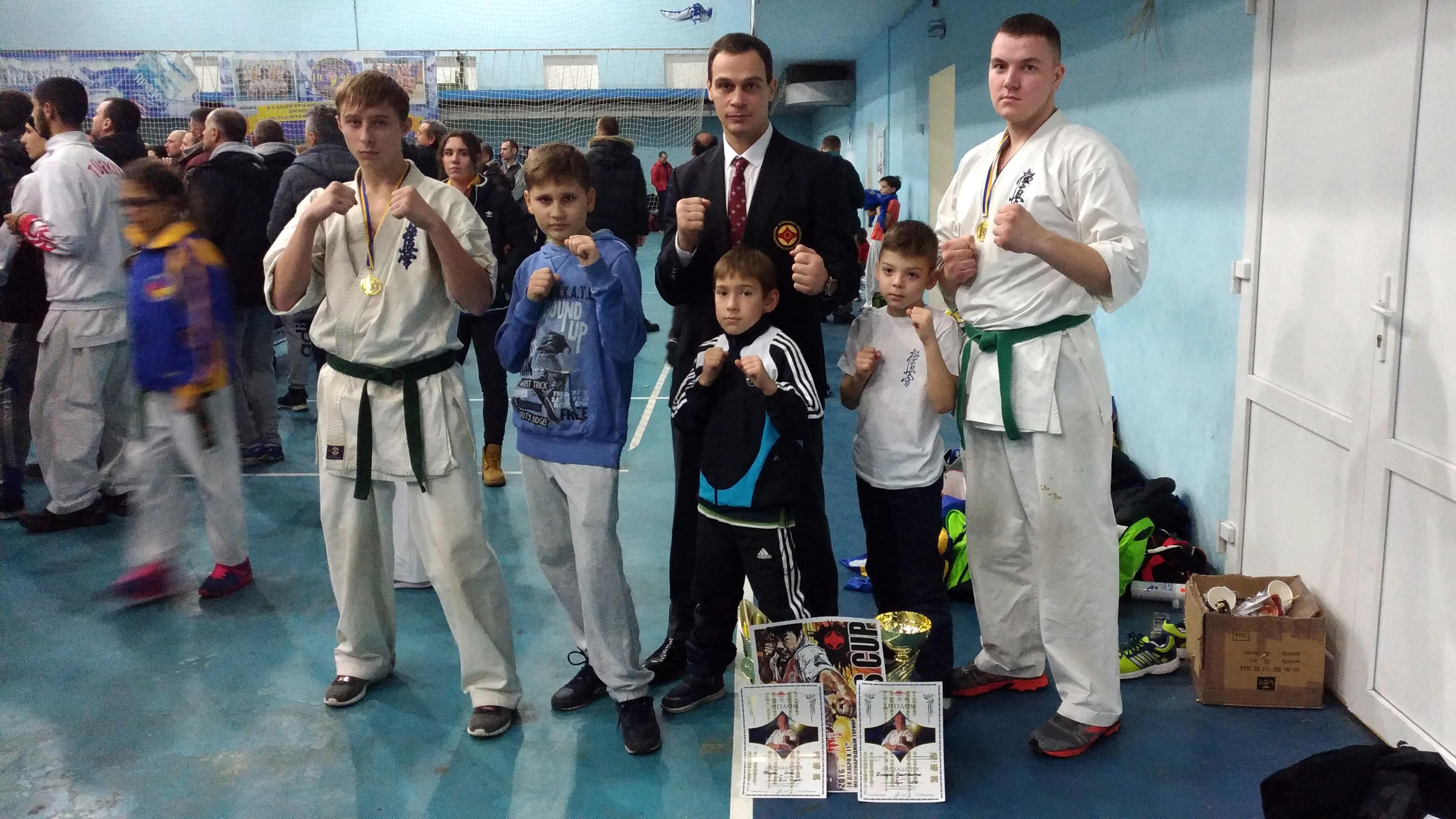 Международный турнир по Карате Киокушинкай в Херсоне