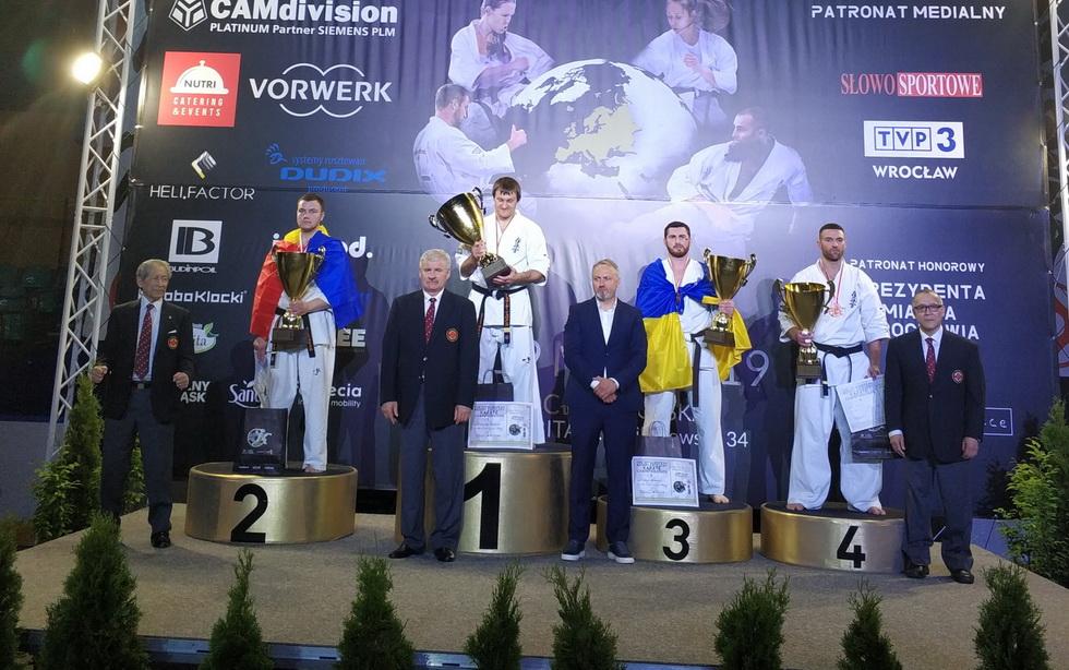 33-й чемпионат Европы по Каратэ Киокушинкай