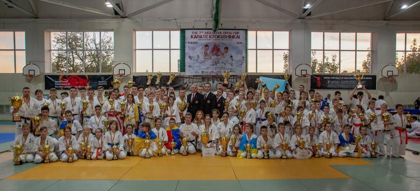 Открытый Кубок Молдовы по Карте Киокушинкай
