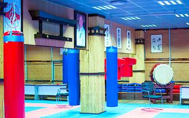 Спортивный зал федерации киокушин карате Молдова